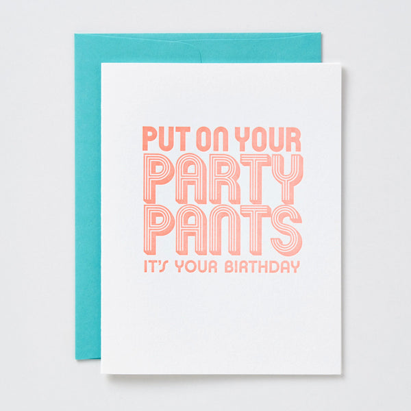 Party Pants Birthday