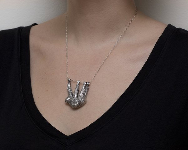 Three-Towed Sloth Necklace