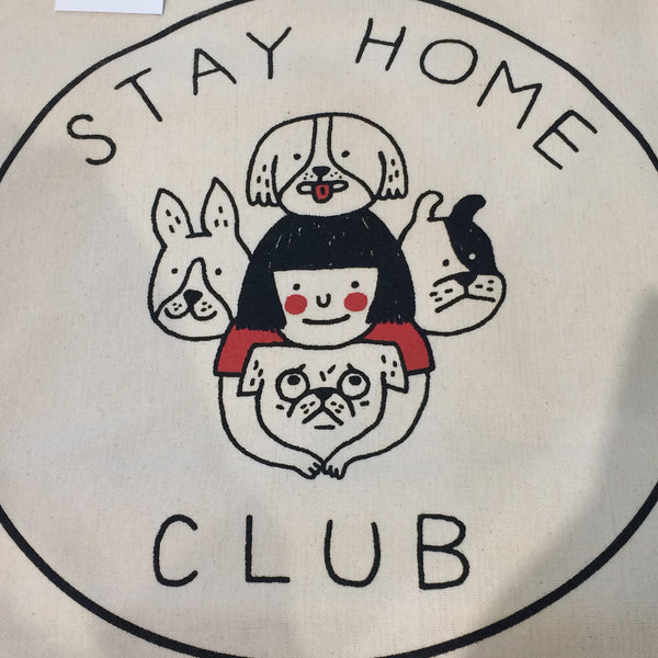 Stay Home Club  - Dog Tote