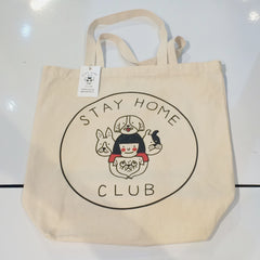 stay home club dog tote