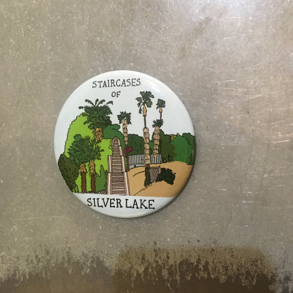 Silver Lake Stairs Magnet