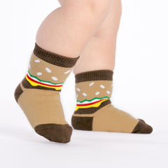 Slider Toddler Crew Socks