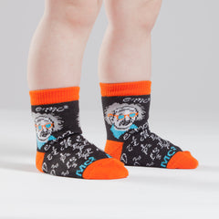 E=MC squared - Toddler Crew Socks