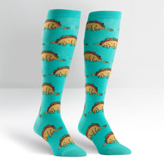 Tacosaurus Women's Knee High Sock