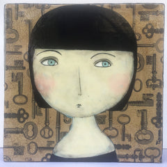 Tatiana Tensen - Head on Key Paper
