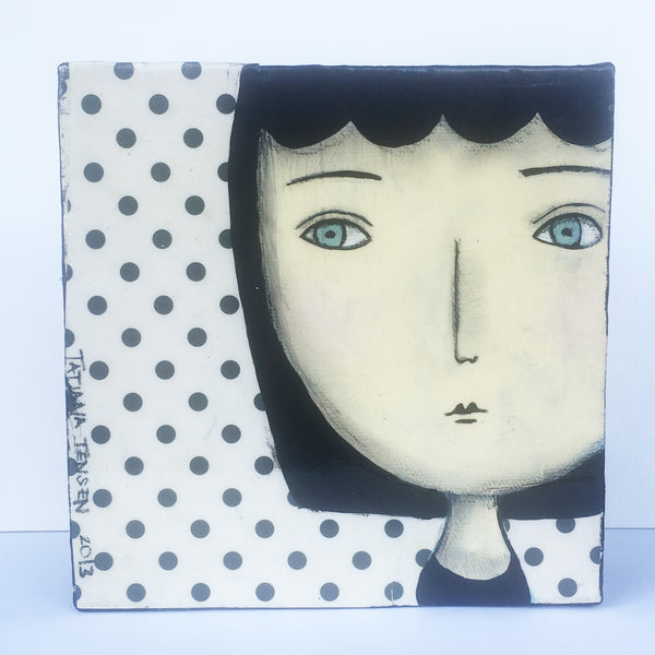 Tatiana Tensen - Head on Polka Dots