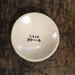 Trinket Dish -  Love and an Arrow - OUT OF STOCK
