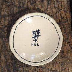Trinket Dish - MRS. - OUT OF STOCK