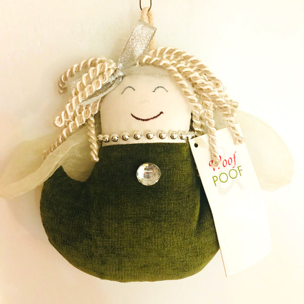 ONLY ONE LEFT! Woof Poof Angel Decoration - SALE!!!