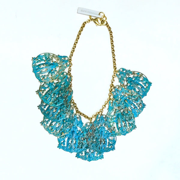Verdigris Spanish Lace Necklace