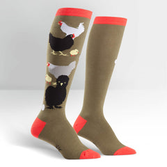 Which came First? Women's Knee High Sock