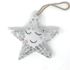 Sequin Stars Ornament