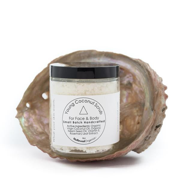 OUT OF STOCK Young Coconut Scrub