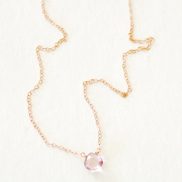 Little Rock Necklace - GF Chain