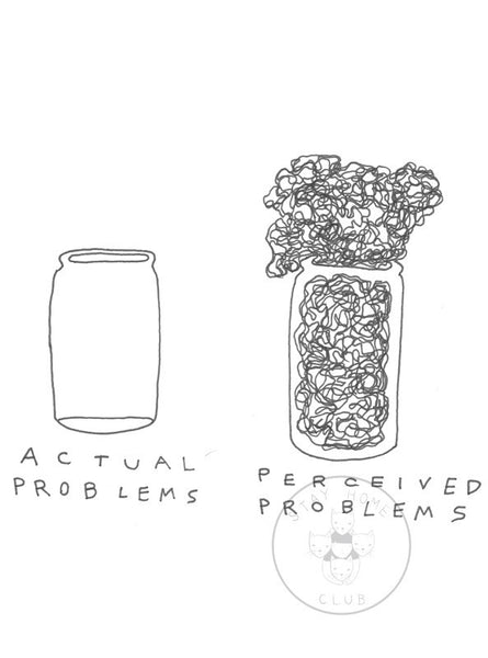 actual problems vs. perceived problems
