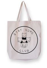 Stay Home Club  - Cat Tote