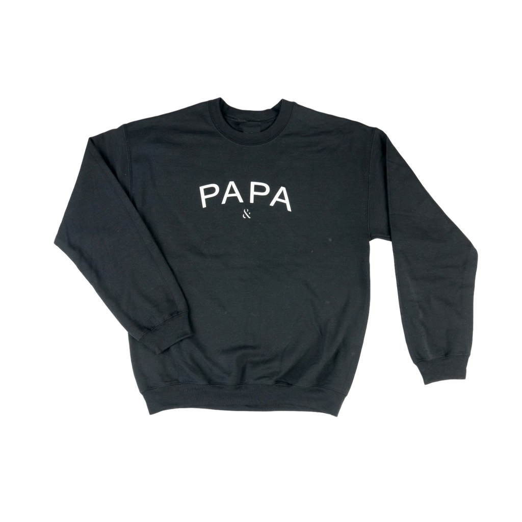 Black Papa sweatshirt