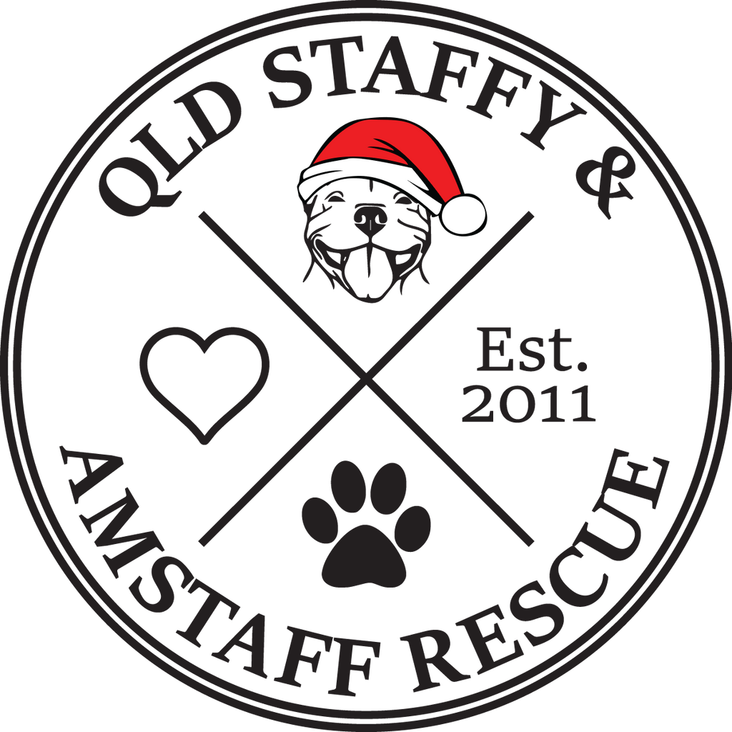 My gift to you... this year is a gift to Qld Staffy and Amstaff Rescue