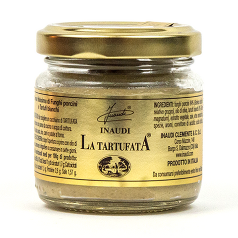 La Tartufata White Truffle And Porcini Sauce - Savors Of Europe - Inaudi