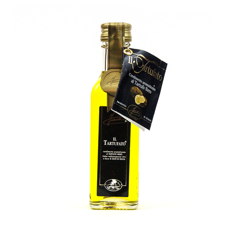 Black Truffle Infused Olive Oil - Savors Of Europe - Inaudi - 1
