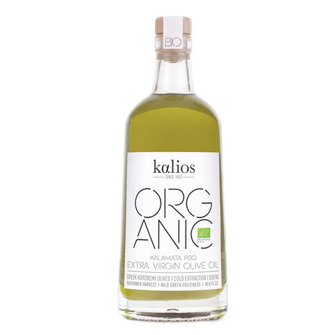 Organic Monovarietal Extra Virgin Olive Oil from Greece - Savors Of Europe - Kalios