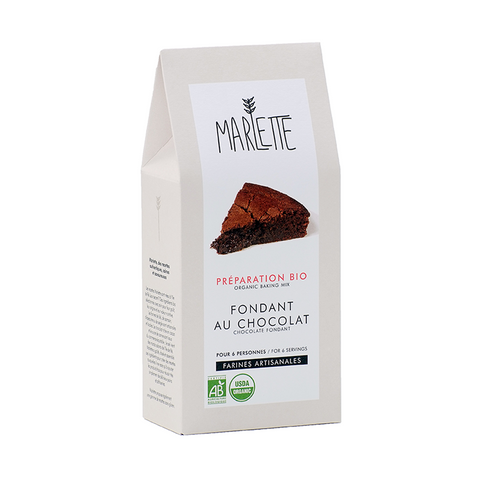 Chocolate Fondant  (Chocolate Lava Cake) Organic Baking Mix - Savors Of Europe - Marlette - 1
