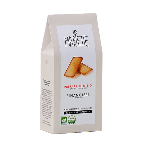 Financier Cake Organic Baking Mix - Savors Of Europe - Marlette - 1