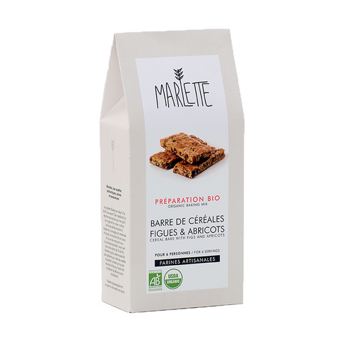 Cereal Bar with Figs and Apricots - Organic Baking Mix - Savors Of Europe - Marlette - 1