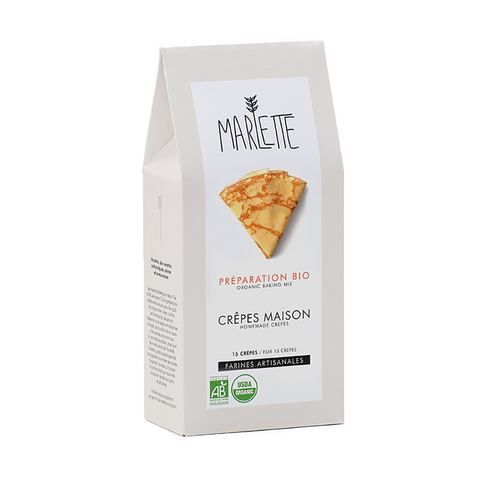 French Crêpes Organic Baking Mix - Savors Of Europe - Marlette - 1