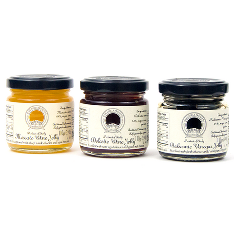 Selection of Three Jellies - Savors Of Europe - Azienda agricola Mariangela Prunotto - 1