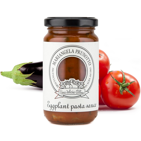 Eggplant and Tomato Pasta Sauce - Savors Of Europe - Azienda agricola Mariangela Prunotto