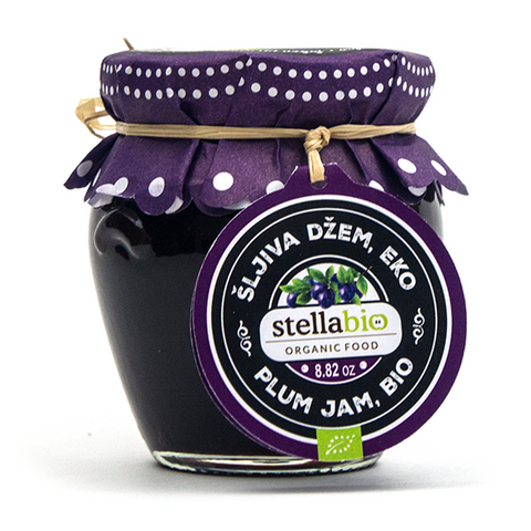 Organic Plum Jam - Savors Of Europe - Stella Croatica