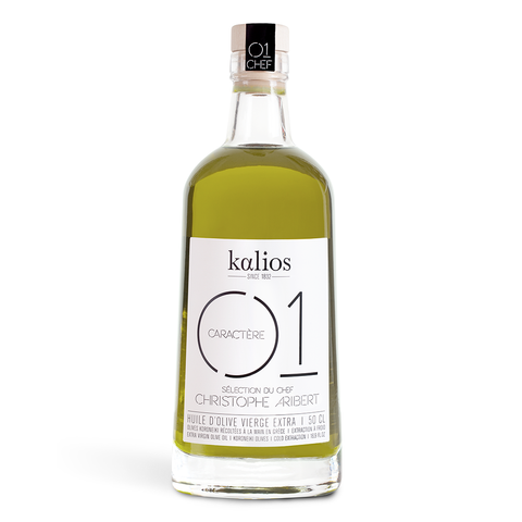 Extra-Virgin Olive Oil from Greece - 01 Intense - Savors Of Europe - Kalios