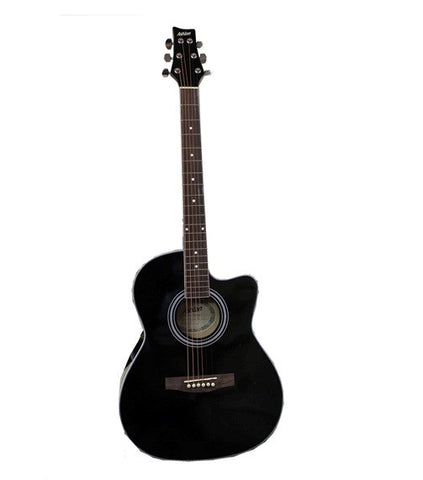 Ashton AJR39 Acoustic Guitar Black
