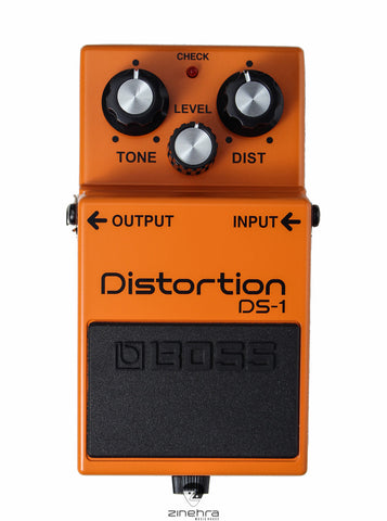 BOSS DS 1 GUITAR DISTORTION EFFECT PEDAL FRONT