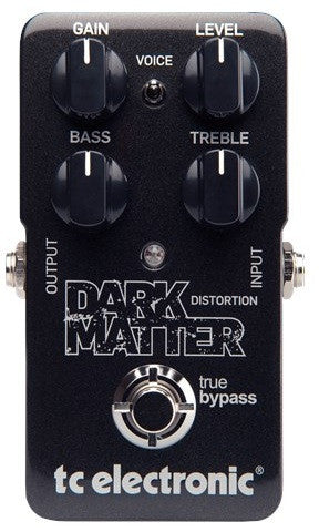 tc electronics dark matter distotion effect pedal front