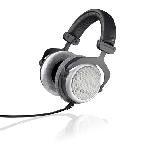 BEYERDYNAMIC DT 880 PRO 250 OHMS SEMI-OPEN DYNAMIC STUDIO HEADPHONES Front