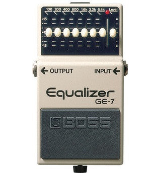 Boss Ge7 - 7 Band Graphic Equaliser