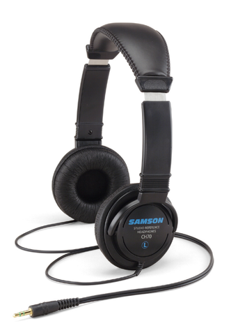 samson ch 70 studio reference headphones front