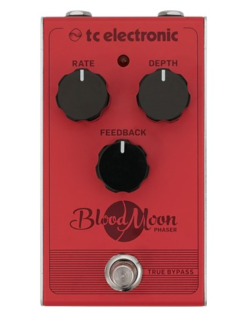 tc electronic blood moon guitar phaser effect pedal front