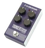 tc electronic thunderstorm flanger effect pedal for guitar side