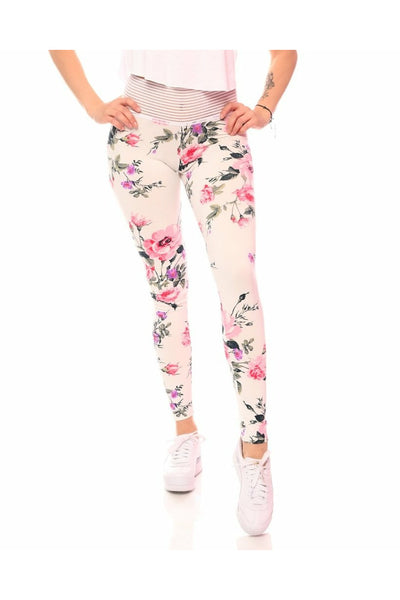 *pretty Petal* (Lifestyle Cute Booty) Leggings - Lifestyle