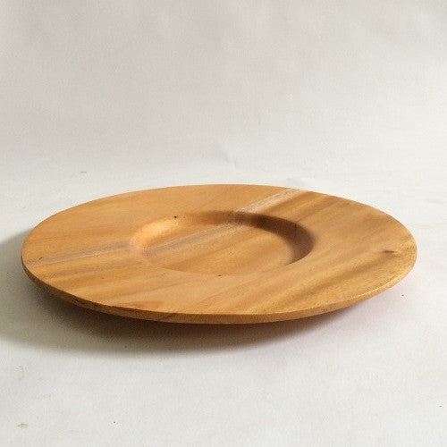 Red Wood Fine Dining Plate