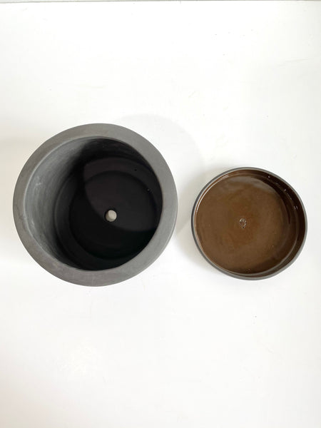 Graphite Ceramic Zen Pot
