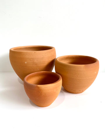 Terracotta Cup Pot (3 Sizes)