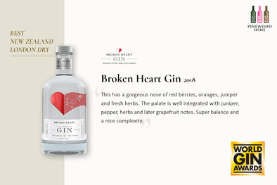 【Award Winning】 Broken Heart Won The Best Gin at the World Gin Awards 2021