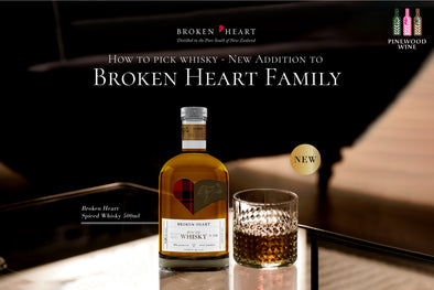 【New Product】Broken Heart Spiced Whisky