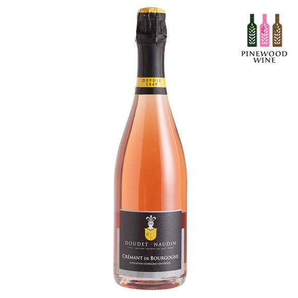 Doudet Naudin - Cremant de Bourgogne Rose Brut NV 750ml - Pinewood Wine