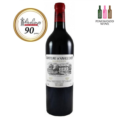 d'Angludet Margaux 2010 (OWC), RP 90 750ml - Pinewood Wine