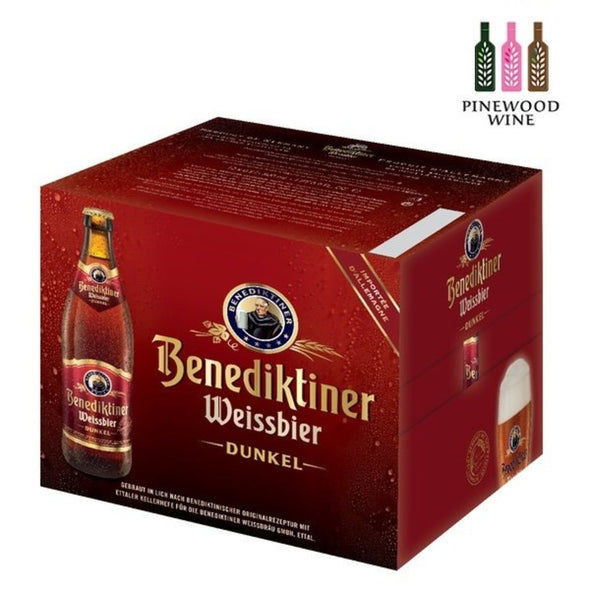 Benediktiner Weissbier Dunkel 500ml Bottle x 12/cs - Pinewood Wine